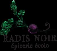 logo radis noir epicerie