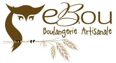 Ebou boulangerie artisanale logo